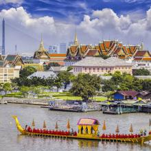 Chao Phraya y el Palacio Real