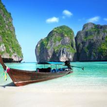 Barcos en Koh Phi Phi