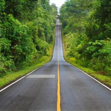 Carretera a Khao Yai