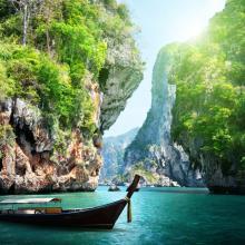 Railay en barca