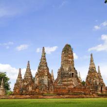 Wat Chai en Ayutthaya